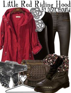 Little Red Riding Hood outfit by Disney Bound