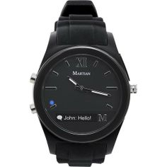 I like this from Best Buy. Martian Smartwatch notifier.