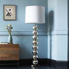 Abacus Floor Lamp - Mercury #WestElm Saw this in the window at the Portland store.  Great design, so many possibilities.