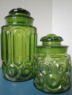 Glass Canister Set #Etsy