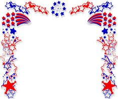 Best of July Clip Art Images Borders Gif Banners Powerpoint Clip Art, Background Powerpoint, Borders For Paper, Borders And Frames, Borders Free, Veterans Day Clip Art, Patriotic Background, 4th Of July Clipart, Image Border