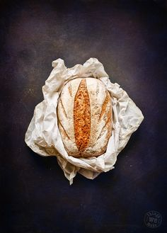 Dark Rye Bread by Claire Sutton
