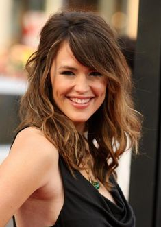 Shoulder length hairstyles for thick hair with bangs
