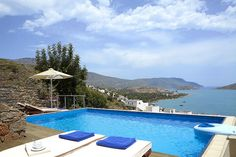 Elounda Blu Hotel Pool by Travelive, via Flickr #Greece