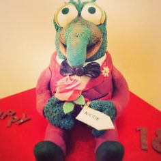 Gonzo cake by churches cakes him, was very sad to hand him over to the birthday girl!