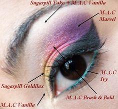 Make-up Of Tea: EOTD: Bollywood Inspiration!