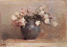 Abbott Handerson Thayer-------  Roses