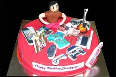GUY WITH MULTI STUFF CAKE