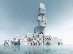 cube tower - Google Search