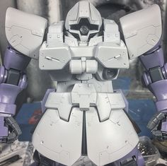 "172 Likes, 10 Comments - Bilest86 (@bilest86) on Instagram: ""Work in progress #ms09r #rickdom #mastergrade #mg #zeonmobilesuit #plamo #gundammodelkit…"""