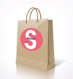 Tigi S-factor Paper Shopping Bag.