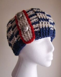 Fall Knit Fashion Nautical Pirate Cable Womens Hat