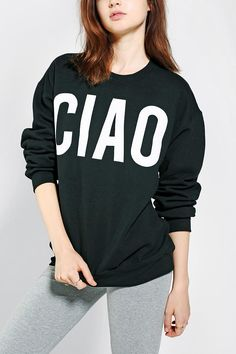 Ciao Pullover Sweatshirt #urbanoutfitters
