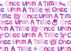 Once Upon a Time Cotton Pink