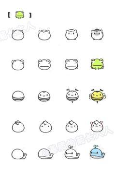 Kleine Tiere zeichnen- Schritt für Schritt erklärt