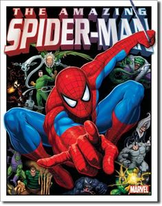 The Amazing Spiderman and Foes TIN SIGN metal poster Marvel Comic Superhero 1260 in Collectibles, Decorative Collectibles, Signs Poster Marvel, Spiderman Poster, X Men, Hulk, Wall Decor Pictures, Art Pictures, Superhero Gifts, Ghost Rider Marvel, Amazing Spiderman