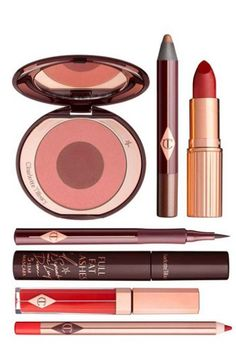"for the perfect berry-kissed look try, ""The Bombshell' set by Charlotte Tilbury"