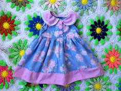 Pink Rose Dress 2T by lishyloo on Etsy