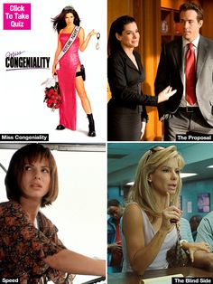 Which Sandra Bullock Character Are You? —Quiz