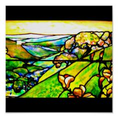 Poster-Stained Glass-Tiffany 19