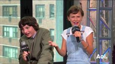 Finn Wolfhard and Millie Brown<3