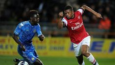 Arsenal manager Arsene Wenger has expressed his admiration for Nigerian teenager Chuba Akpom.         Wenger disclosed to the club's official website that Akpom, who has scored three goals for England's Under-19 team, could soon become a major contender for the first team, after naming the 17-year-old on the substitutes' bench in Arsenal's Champions League game against Olympiakos last Tuesday. Arsene Wenger, League Gaming, Arsenal Football, One Team, Champions League, How To Become, Goals, Club