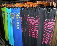 Hollister Pants!! wish i had 1 of each!! <3