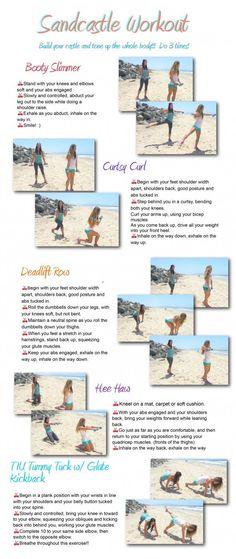 tone it up sandcastle workout