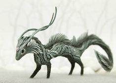 Dragon Spirit Elemental Fantasy Figurine Eastern Dragon Sculpture Fantasy Animal
