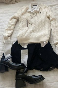 Preppy Outfits, Preppy Style, Cute Casual Outfits, Fall Outfits, Fashion Outfits, My Style, Aesthetic Fashion, Look Fashion, Aesthetic Clothes