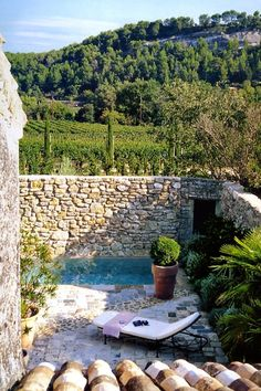 Villa Grenache photos - Bastide de Marie : luxury property with hotel services in Provence (France) Outdoor Rooms, Outdoor Gardens, Outdoor Living, Outdoor Decor, Hotel Services, Provence France, Cool Pools, Pool Designs, French Country