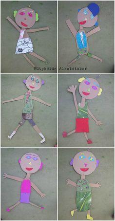 papír babák