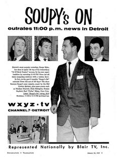 soupy sales wxyz 1955 | Flickr - Photo Sharing!