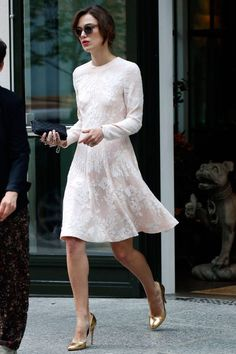 Keira Knightly's street style while doing Begin Again promotion rounds Stay up to date on her latest look here.