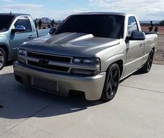Chevy Trucks Lowered, Custom Chevy Trucks, Jacked Up Trucks, Gm Trucks, Pickup Trucks, Chevy Silverado Single Cab, Silverado Truck, Chevrolet Silverado 1500, Chevrolet Trucks
