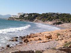 Beach in Salou