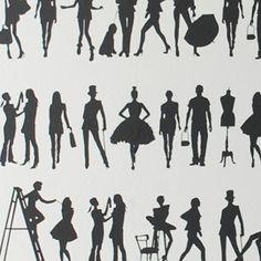 Ferm Living Fashion Wallpaper