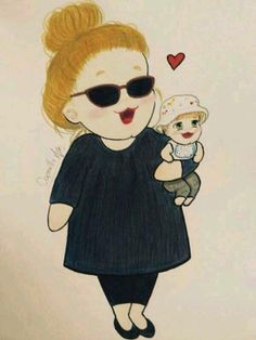#Adele n Her Son