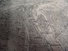 Plan of Paris in 1630 First French Empire, Egypt Travel, 17th Century, Unity, City Photo, Germany, Paris France, Lilies, Paris