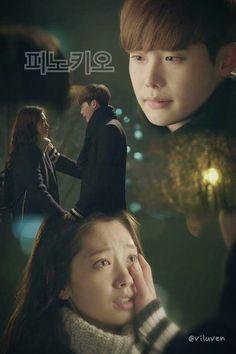 pinocchio kdrama cute couple love Lee Jong Suk Pinocchio, Park Shin Hye, Drama Korea, Me Tv, Korean Dramas, Lee Min Ho, Cute Couples, Falling In Love, Kdrama