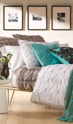 Shop bed and bath at Buyer Select. Our curated selection includes beautiful duvet covers, designer, and luxury bedding sets as well as sumptuous linens. Home Bedroom, Bedroom Decor, Master Bedroom, Contemporary Bedroom, My New Room, Beautiful Bedrooms, Luxury Bedding, Bedding Sets, Taupe Bedding