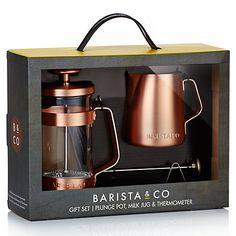 Buy Barista & Co. Copper Gift Set Online at johnlewis.com