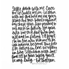 Ed Sheeran - Kiss Me