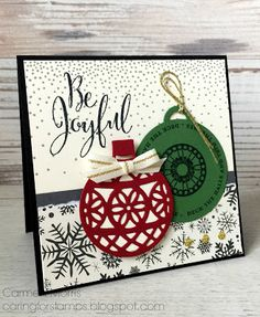 Aftellen naar de Herfst/Wintercatalogus #4: Stampin' Up! ~ Merriest Wishes