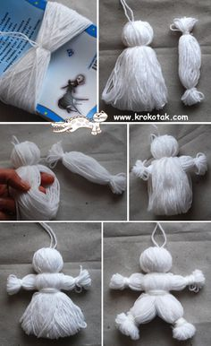 Baba Marta YARN DOLL