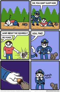 Mr. Lovenstein :: Corruption   Tapastic Comics - image 1