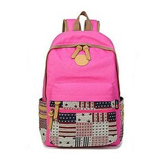 Women Outdoor Geometric Pattern Travel Canvas Backpack , travel 101, taiwan travel, mini travel essentials #ocean #traveladventure #borntotravel, back to school, aesthetic wallpaper, y2k fashion Tumblr Outfits, Hipster Outfits, Edgy Outfits, Simple Outfits, Classy Outfits, Outfits For Teens, Cute Outfits, Canvas Backpack, Backpack Bags