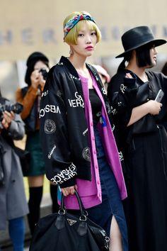 Women's Street Style by #Streetper  #streetper #streetstyle #streetfashion #fashion #fashionstyle #seoul #korea #womenswear #womensfashion