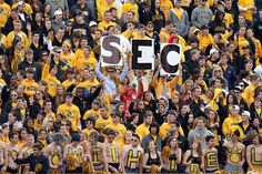 Welcome to the SEC!!!