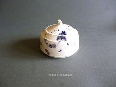 franzi ceramics. box #box#blu#ceramic#painting